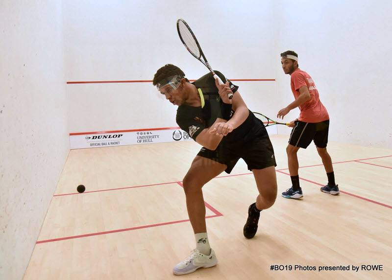 Mostafa Assal 2019 British Open Day 1