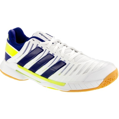 buy online 6f851 5412d White and blue guy Adidas Adipower Stabil 10.1