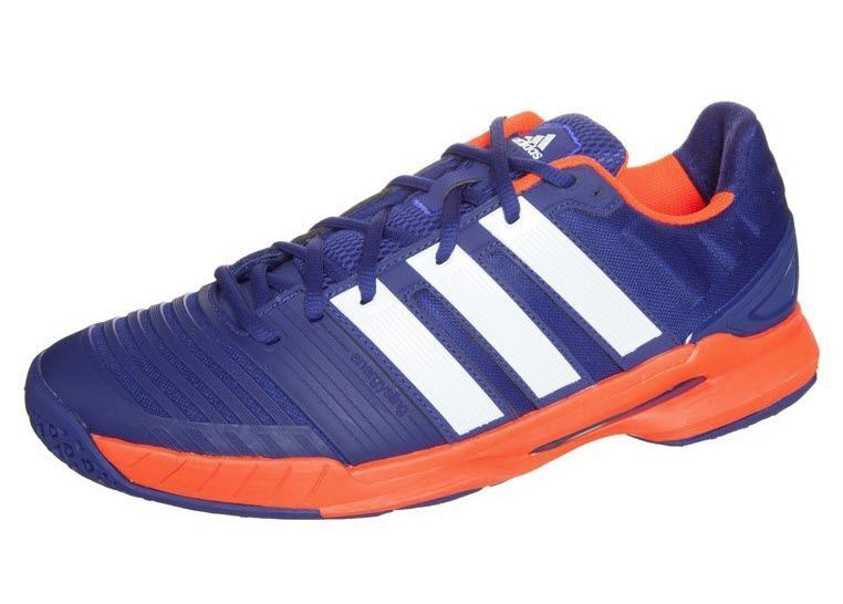 Adidas Adipower Stabil 11 Men  Blue Orange  Image via zalando.co.uk 73aa925d2053e