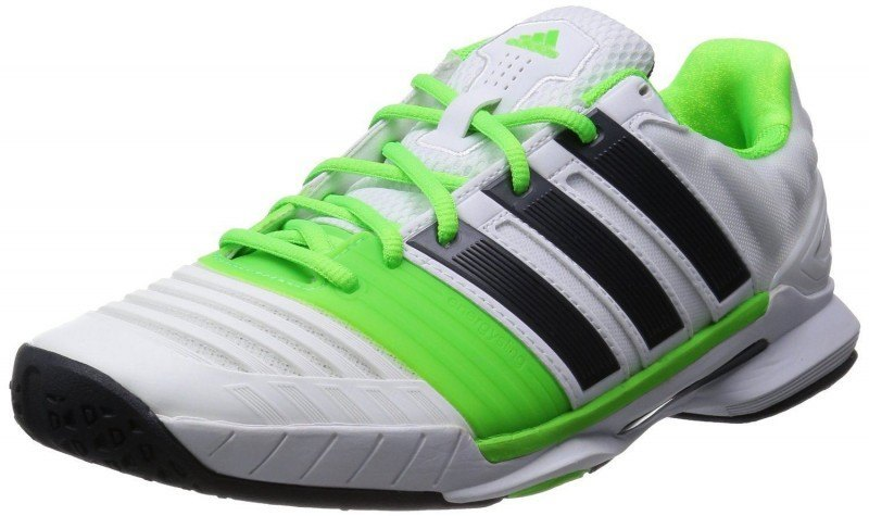 detailed look e881c 2d178 Adidas Adipower Stabil 11 - White Green Black
