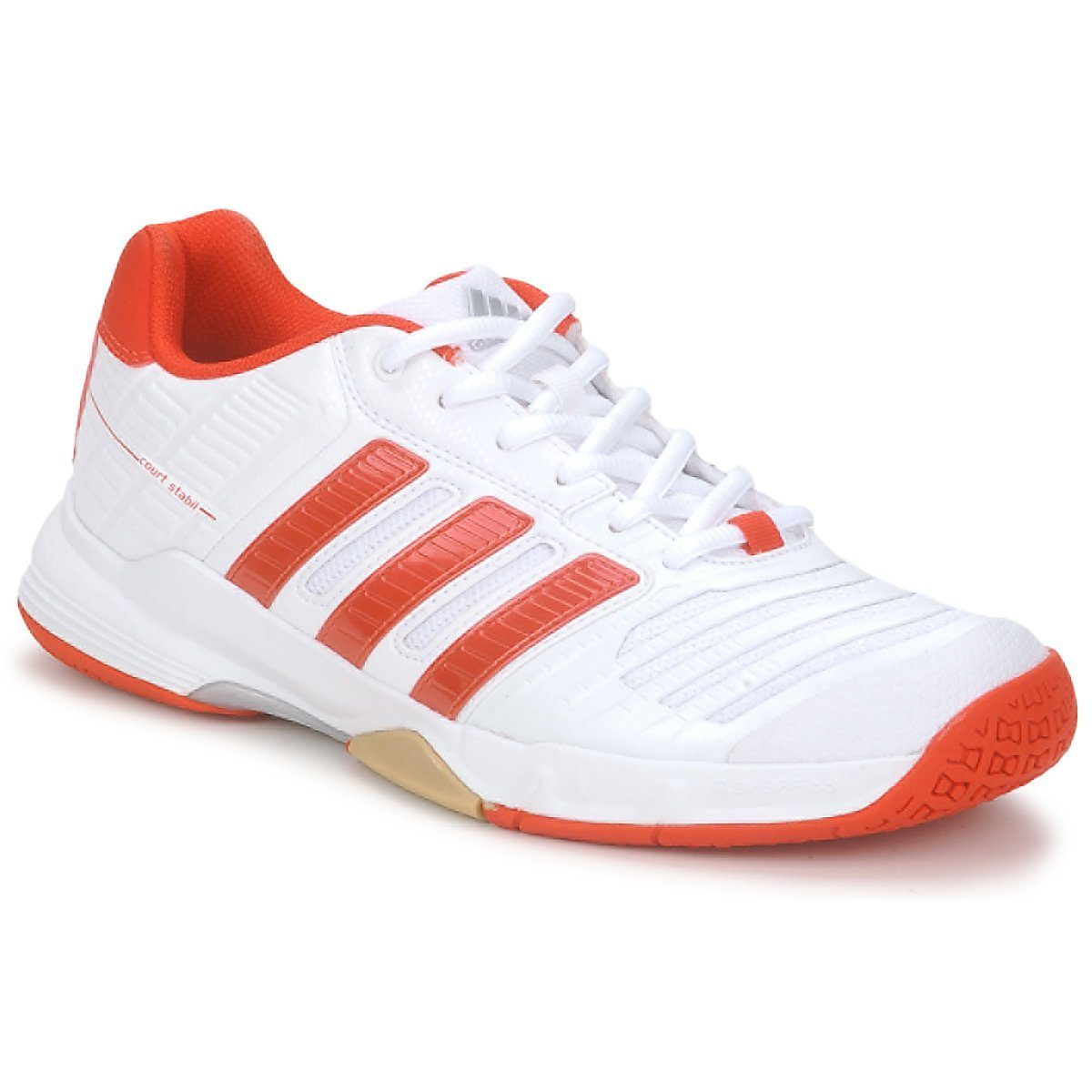 Adidas Court Stabil 10 Women - White and Red