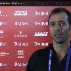 Amr Shabana Racket and Shoes