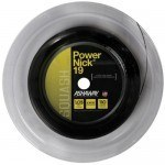 Ashaway PowerNick 19 Black Squash Strings