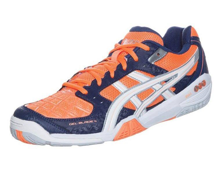 Asics Gel Blade 4 Men [Orange Blue]