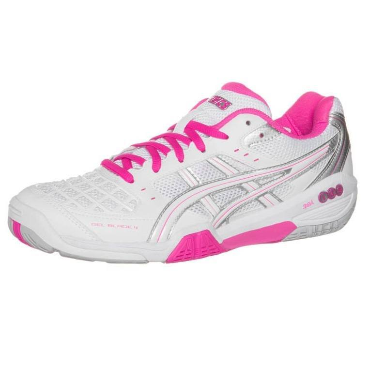 Asics Gel Blade 4 Women White Pink