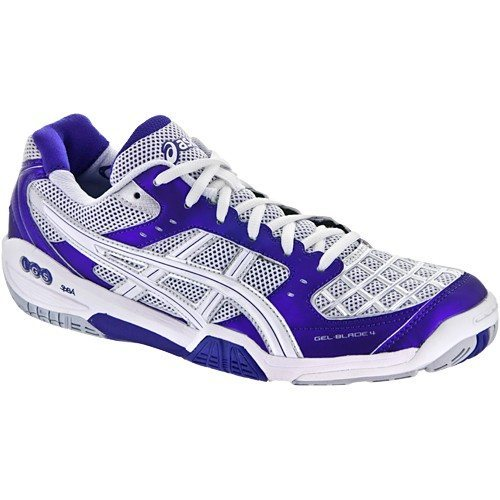 Asics Gel Blade 4 Women Purple Silver