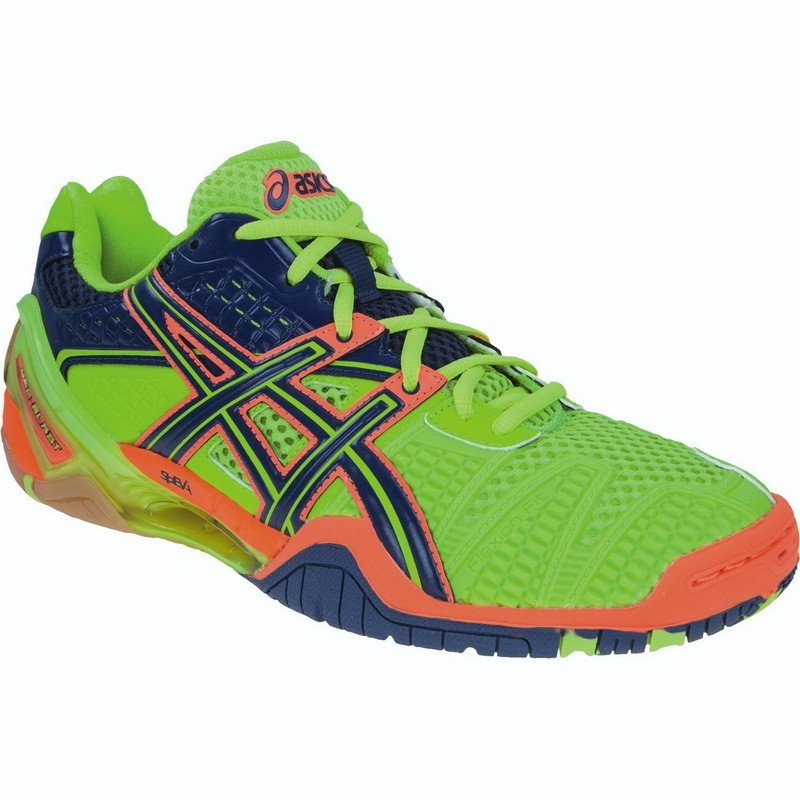 Asics Gel Blast 5 - Green Orange Navy
