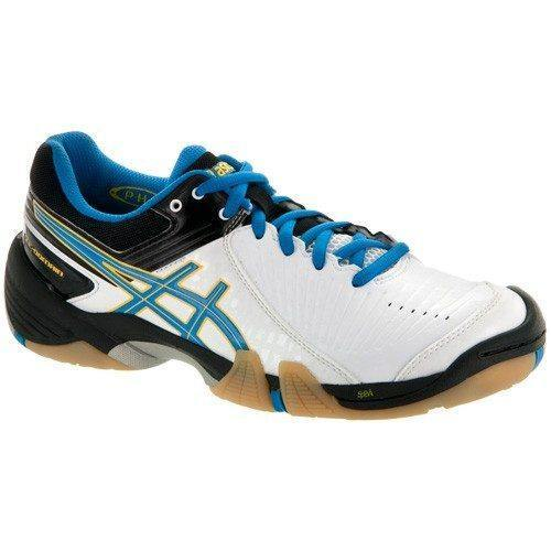 Asics Gel Domain 3 Women - White Black Blue