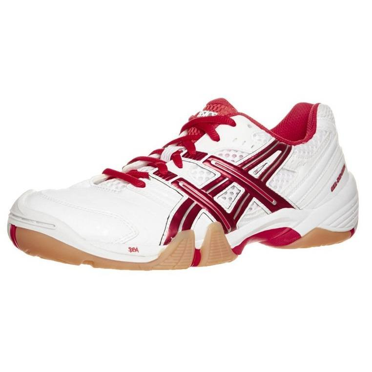 Asics Gel Domain Women - White Red