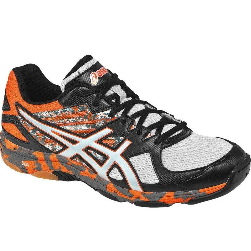 Asics Gel Flashpoint 2 Men - Black Silver Orange