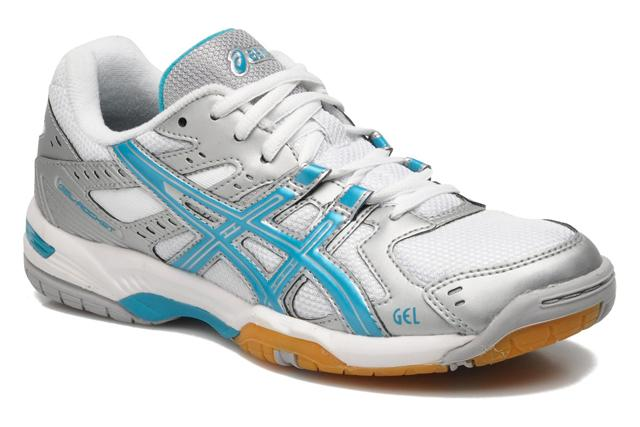 Asics Gel Rocket 6 Women Silver Blue