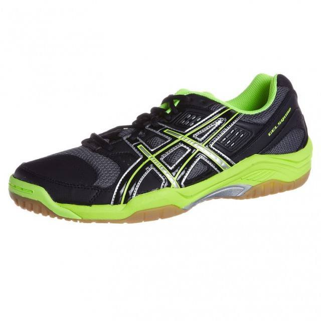 Asics Gel Squad Black and Green