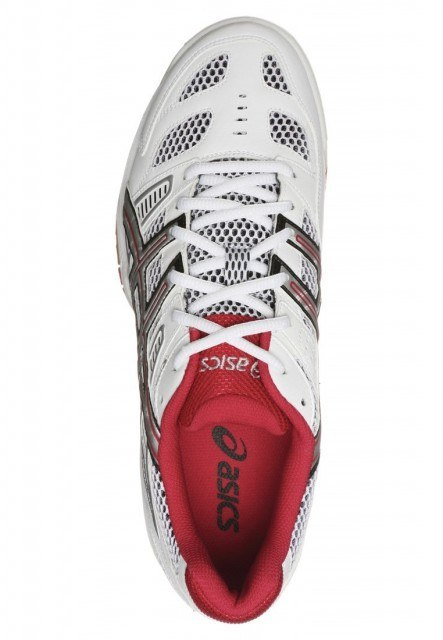 Asics Gel Tactic - White Red
