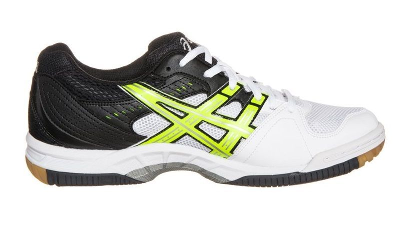 Asics Gel Task Men - Black White Yellow (Instep)