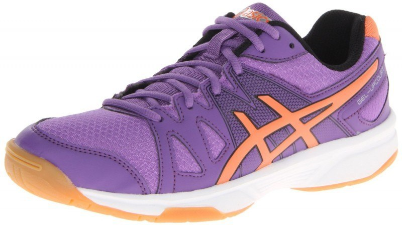 Asics Gel Upcourt Squash Shoes Women Purple Orange
