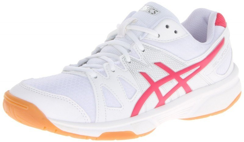 Asics Gel Upcourt Squash Shoes Women White Pink