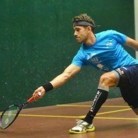 Borja Golan Using New Eye Racket