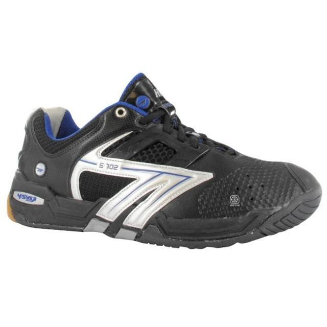 Hi Tec S702 4SYS Squash Shoes - Black