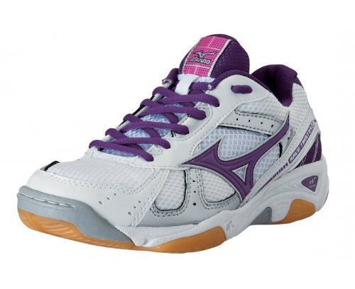Mizuno Wave Twister Women White Purple