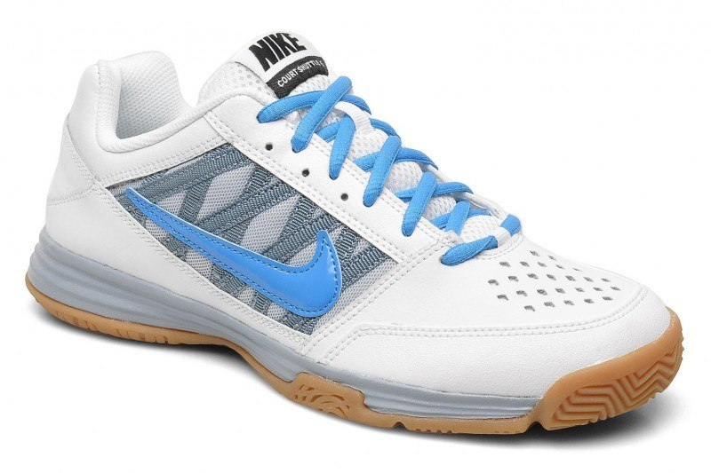 Nike Court Shuttle 5 Men - White Blue