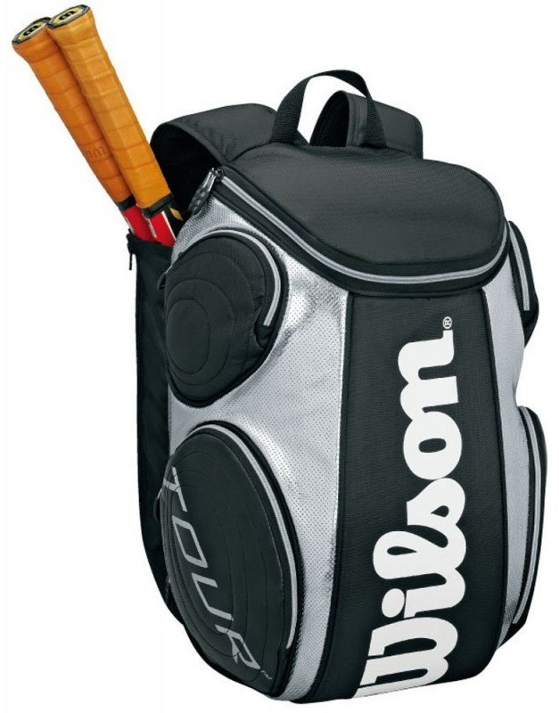 Wilson Tour Large Backpack - Black Silver