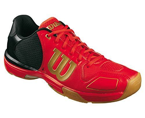 Wilson Vertex Shoes Men - Red Black